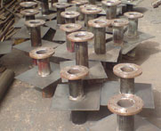 alloy steel Puddle Flanges