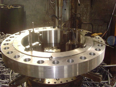 our ASME B16.5 Flat Flanges manufacturing plant Mumbai