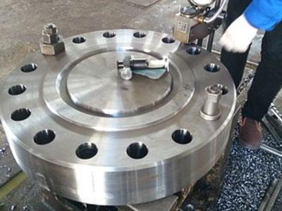 our Blind (BL) Flanges manufacturing plant Mumbai