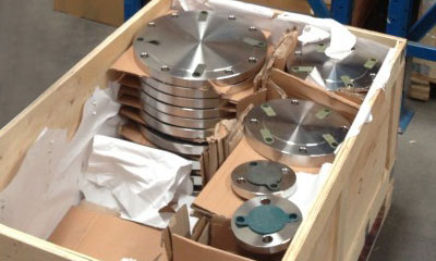 Blind (BL) Flanges packing