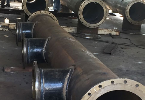 Fabricated Pipe Headers