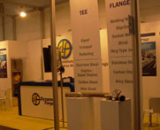 ASME B16.5 Spades Ring Spacers Flanges & Fittings trade exhibition in Singapore
