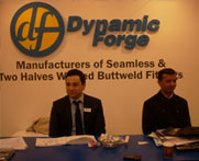 Lap joint flanges & Fittings trade exhibition in Singapore
