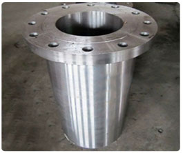 Long welding neck forged flanges