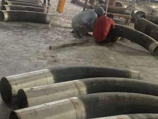ASME B16.49 Pipe Bend manufacturer