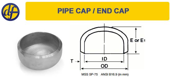 pipe-end-cap-dimensions