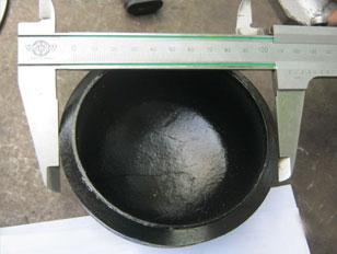 Steel Pipe End Caps/ Plugs – Oval, Round, Custom Shape