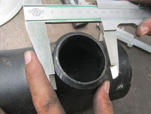ASME/ANSI B16.9 Equal & Unequal Tees, Reducing Pipe Tee manufacturer