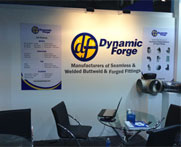 90 Deg/ 45 Deg/ 180 Deg Elbows & Fittings trade exhibition in Dubai- UAE