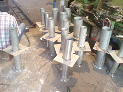 our Puddle Flanges manufacturing plant Mumbai