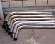 stainless steel Pipe bends/ Hot Induction Bends