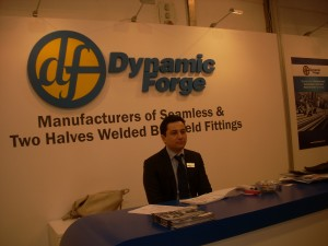 Dynamic Forge & Fittings (I) P. Limited. at Tube & Wire, held in Germany