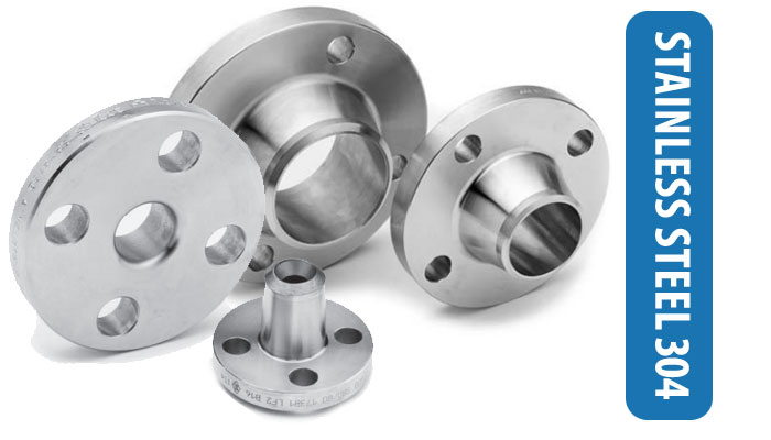 SS 304 Flanges