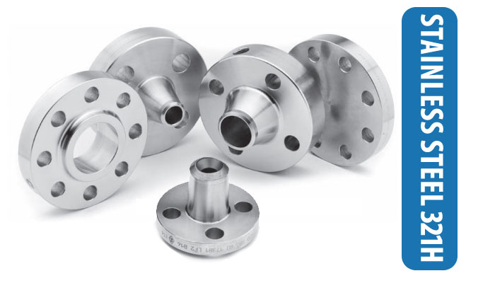 SS 321H Flanges