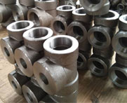 Alloy Steel Forged Screwed-Threaded Equal Tee