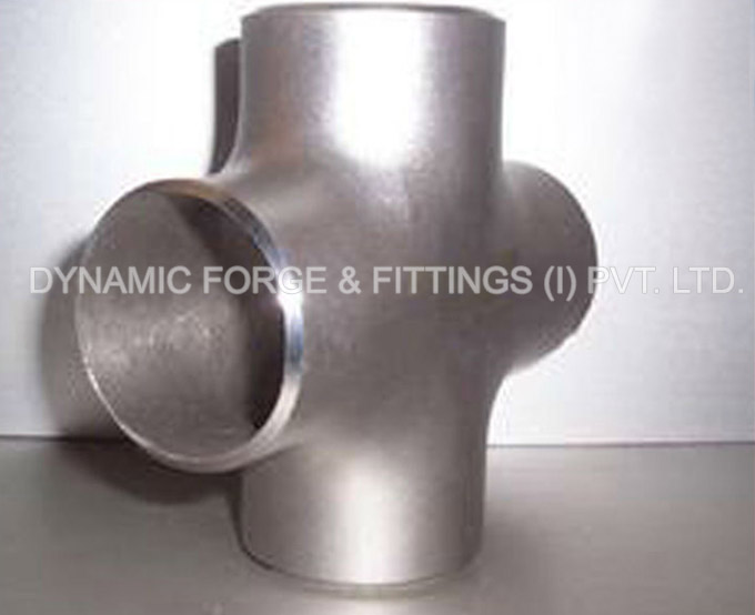 original photograph of Butt Weld Cross/ Pipe Equal Cross in our factory