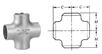 Butt Weld Cross/ Pipe Equal Cross Dimensions