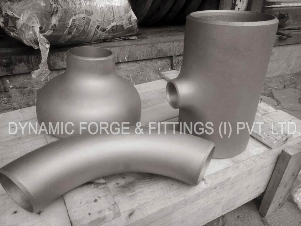 Dynamic Forge & Fittings manufacturing unit's - original photograph of Stainless Steel 201 Butt weld Fittings