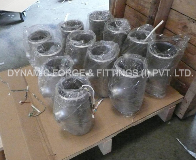 original photograph of Butt Weld Reducing Tee ready stock for shipping