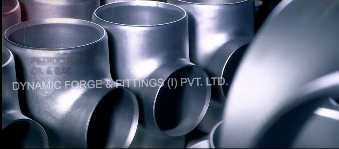 Dynamic Forge & Fittings manufacturing unit's - original photograph of Duplex Steel Buttweld Fittings