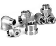 Duplex Steel Forged Socket Weld Unequal Tee