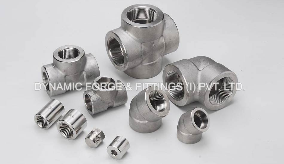 Dynamic Forge & Fittings manufacturing unit's - original photograph of Stainless Steel Forged Fittings