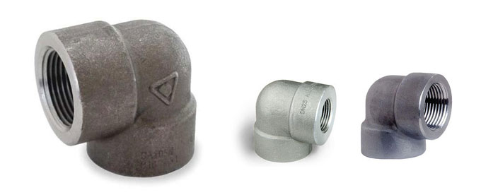 Forged 90 Deg Screwed-Threaded Elbow Manufacturers & suppliers in India
