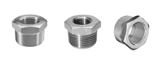 Forged screwed threaded bushing dynamic forge fittings
