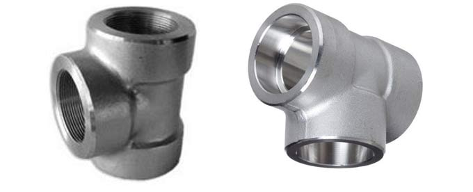 Forged Screwed-Threaded Equal Tee Manufacturers & suppliers in India
