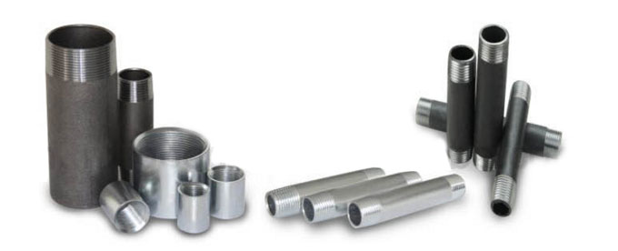 Forged Screwed-Threaded Pipe Nipple Manufacturers & suppliers in India