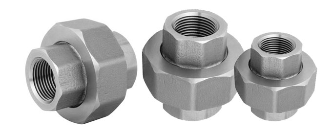 Forged Screwed-Threaded Union BS 3799 Manufacturers & suppliers in India