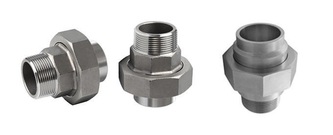 Forged Screwed-Threaded Union Male Female Manufacturers & suppliers in India