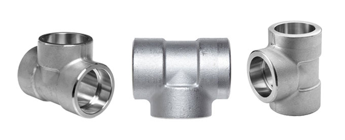 Forged Socket Weld Equal Tee Manufacturers & suppliers in India