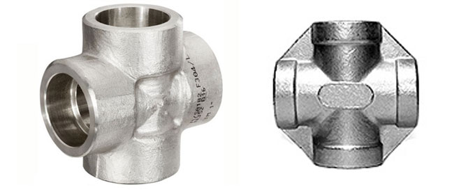 Forged socket weld unequal cross dynamic forge fittings