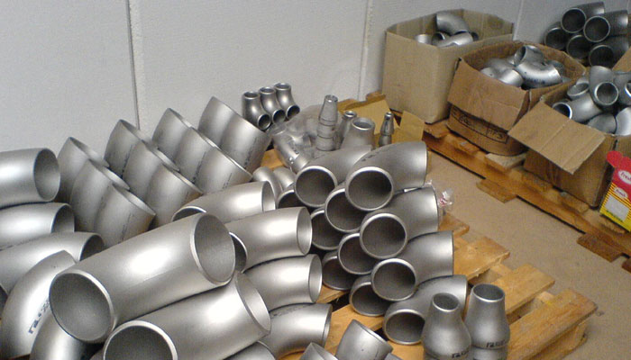 Ready stock of Nickel Alloy 201 Buttweld Fittings