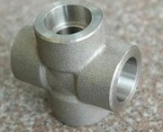 Stainless Steel Forged Screwed-Threaded Equal Tee
