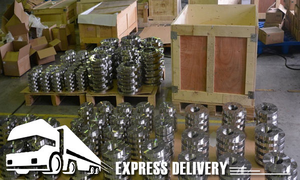 Alloy 20 Flanges packaging