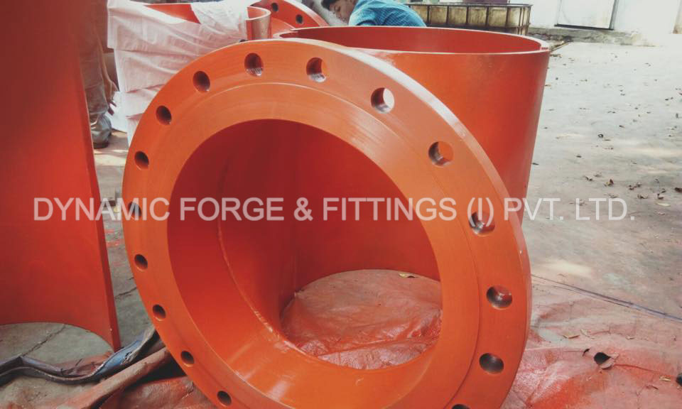 Dynamic Forge & Fittings manufacturing unit's - original photograph of Stainless Steel Flanges