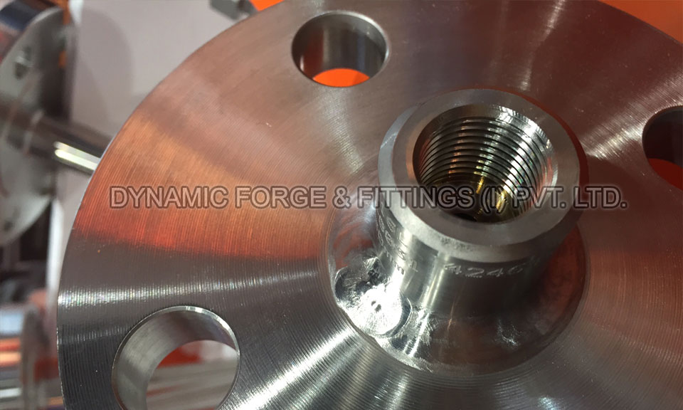 A182 F304/F316 - Original photograph of Stainless Steel Flanges in our Factory